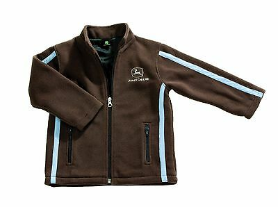 John Deere Childs Brown Fleece Jacket - Available in 12 Months - 3 Years