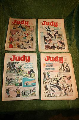 judy comics (4 Issues from 1967) Nos 386, 387, 391, 392