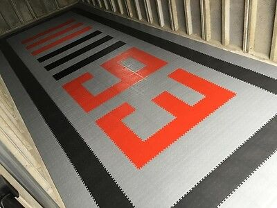 Rubber PVC Garage factory Flooring Interlocking Floor tiles 60p each THE BEST!!!