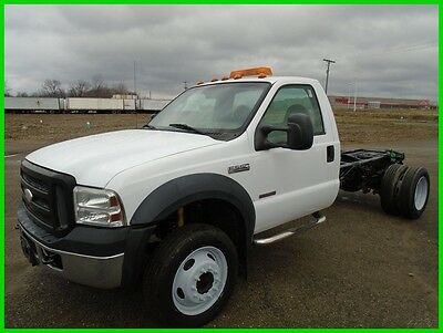 2007 Ford F-550 XL Super Duty Reg Cab and Chasis Used