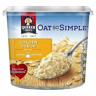 Quaker Oat So Simple Golden Syrup Porridge Pot 57g