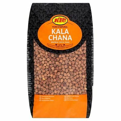 KTC Kala Chana Brown Chick Peas 2kg
