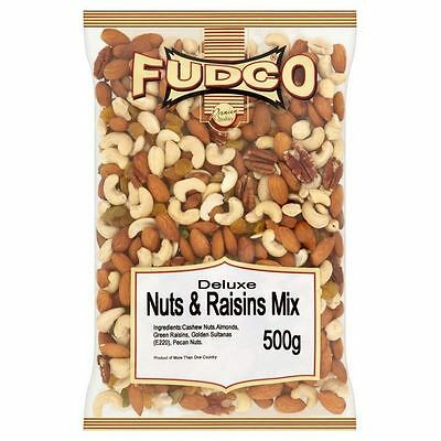 Fudco Deluxe Nuts & Raisins Mix 500g