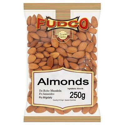 Fudco Almonds 250g