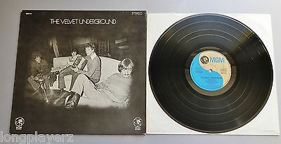 The Velvet Underground 1969 German Stereo 1st Press LP
