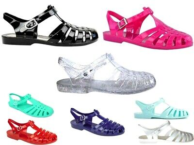 a24eebd1f36 Womens Jelly Shoes Gladiator Summer Beach Sandals Holiday Flip Flops Water  Shoe