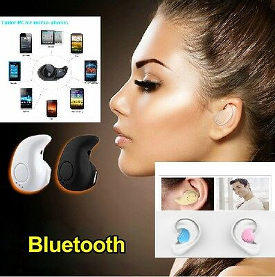 Mini Wireless Bluetooth 4.1 Hands Free Phone Headset Earbud Earpiece