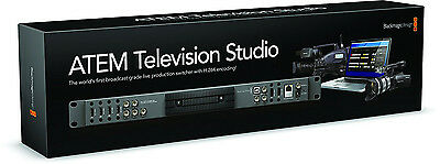 Blackmagic Design ATEM Television Studio Production Switcher - USED ONCE!