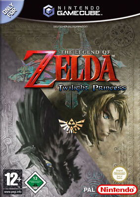 GameCube Spiel - The Legend of Zelda: Twilight Princess (mit OVP) (PAL)