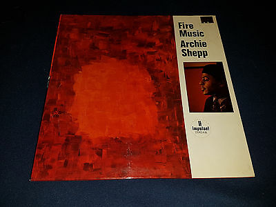 Archie Shepp - Fire Music - Impulse - Stereo A-86 - Jazz Lp - French Press