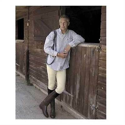 CLEARANCE SALE Mens Rhinegold Cotton Lycra Horse Riding Breeches LAST 2 £14.99