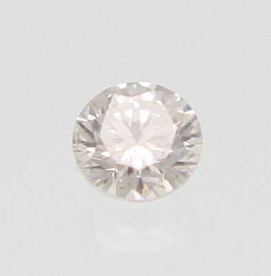 0.27 Carat D Color SI1 Round Brilliant Enhanced Natural Loose Diamond 4.06mm