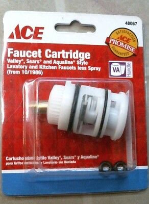 ACE 48067 Faucet Cartridge for Valley, Sears, & Aqualine Style, FREE SHIPPING