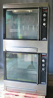 Used HOBART HRO550 COMMERCIAL ROTISSERIE OVEN Double Stacked, Free Shipping!