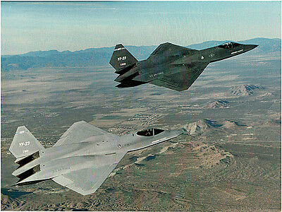 Northrop,ATF: YF-23 Photo, the Grey Ghost, & the Black Widow II, September 1990