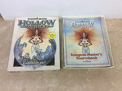 Advanced Dungeons & Dragons Hollow World Campaign Set! Pics!