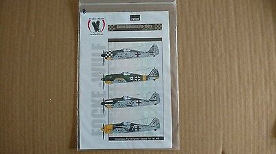 1/72 Eagle Strike Decals Home Defense Fw-190's Pt.III