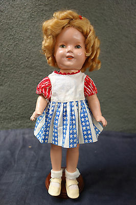 """13"""" Composition Ideal Shirley Temple Doll - Beautiful Condition!"""