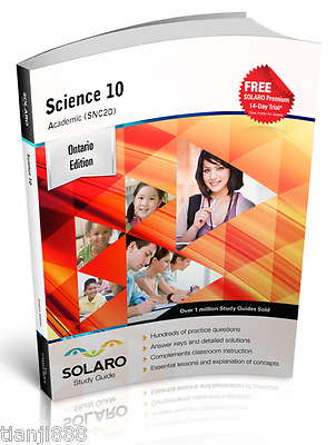 SOLARO Study Guide - Ontario Science 10, Academic (SNC2D)