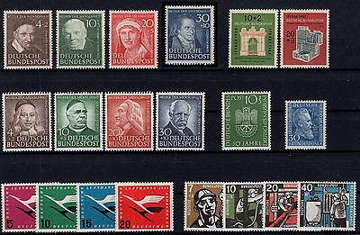 P24178/ Allemagne Germany Bund 1951 / 1957 Lot Neuf / Mint Mnh 442 €