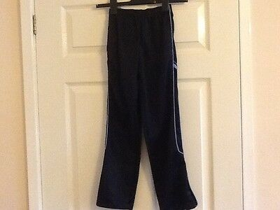 Rebel Boys Navy Jogging Trousers - Age 8 - 9
