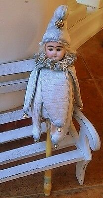 A replica of the marotte. Doll for antique dolls, photo shoots or collectibles.