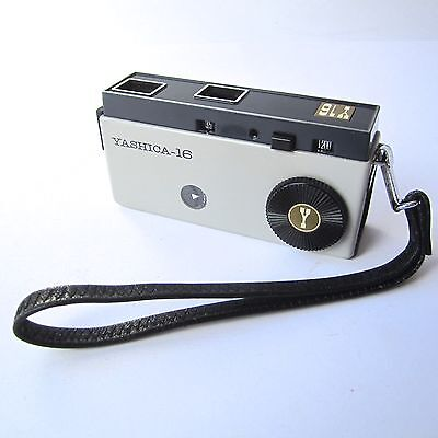 Vintage YASHICA 16 Subminiature Camera Cassette Strap & Box