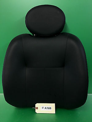 "Seat Back Cushion for Pride Power Wheelchair 18"" Wide (BLACK)   #A166"