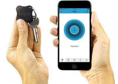 Lapa 2 Bluetooth Tracker - Find Keys, Wallet, Bag, Pets, and even your Smartphon