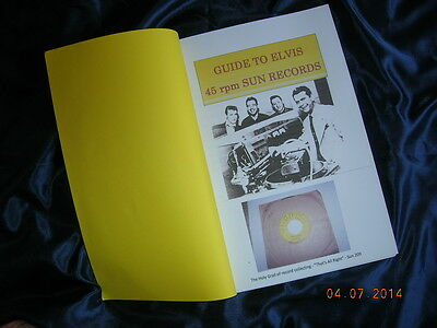 Guide To Authenticating Elvis 45Rpm Sun Records 1954-1955