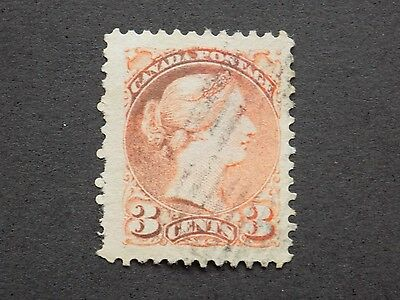 (1) used Canadian stamp-Scott # 37e-We combine shipping-