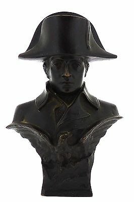 Fine Antique French Bust of Napoleon Bonaparte Bronze With Eagle - Sculpture BR