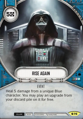 Rise Again - Uncommon - Star Wars Destiny: Spirit of Rebellion