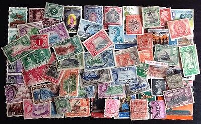 COMMONWEALTH (8) -Over 60 Used Stamps
