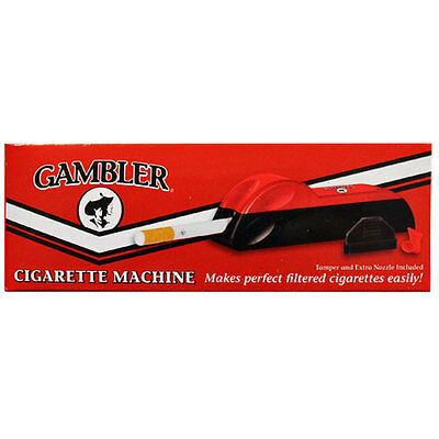 GAMBLER Regular King Size Cigarette Making Rolling Tobacco Tube Injector Machine