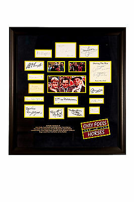 Only Fools And Horses Cast Signed presentation (signed by 14 members!)
