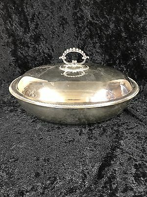 Good Quality Silver Plated Oval Tureen