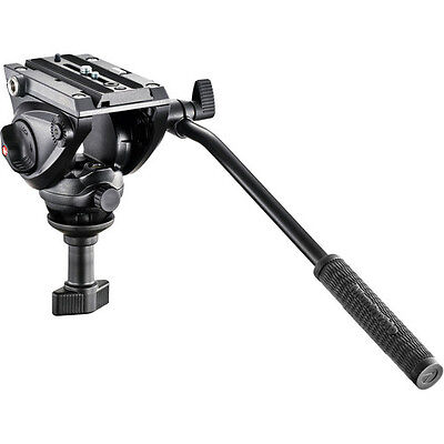 Manfrotto MVH500A Pro Fluid Video Head with 60mm Half Ball, No Fees! EU Seller