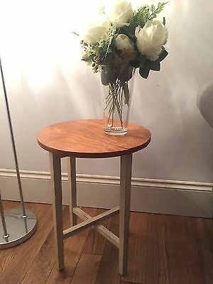 Vintage Style Folding side table/coffee table.