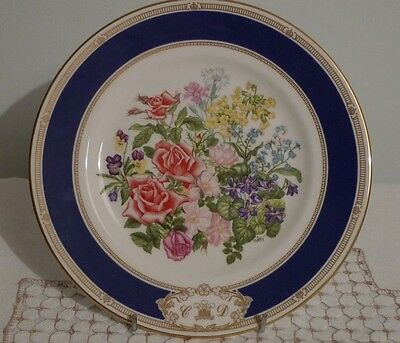 Royal Doulton Charles and Diana Royal Wedding Bouquet, Collectors Plate, VGC