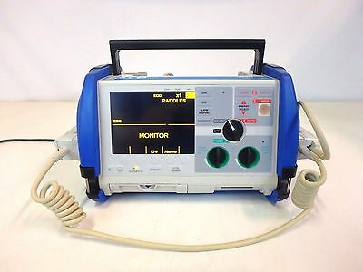 Zoll M Series Biphasic 200 Joules Max Defib ECG AED Monitor Medical