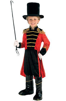 Brand New Ring Master Circus Big Top Outfit Child Costume (Medium)