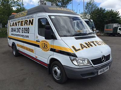 2006 Mercedes sprinter 416 CDI mobile workshop Compressor and Generator