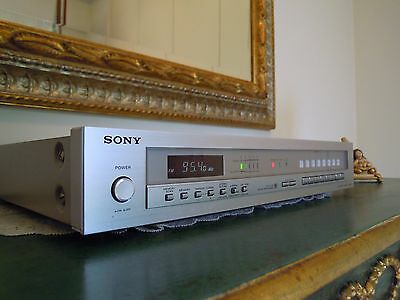 SONY FM STEREO TUNER ST-J60 DIGITAL SYNTHESIZER XTAL-LOCK  CAL TONE radio audio