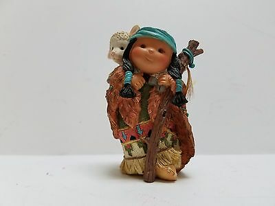 "Boy Shepherd With Lamb Figurine ""friends Of The Feather -- Brother Of The Flock"""