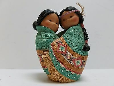 """love For Many Moons"" Indian Couple Figurine"