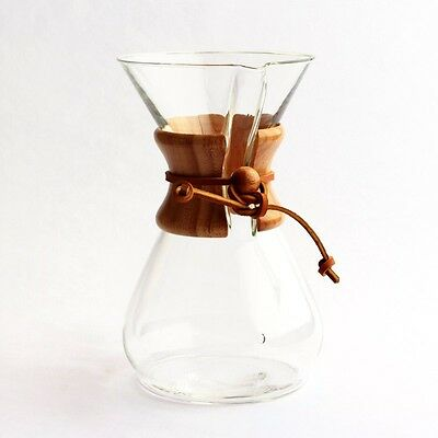 BRAND NEW - Chemex 8 Cup Classic Glass Coffee Maker - FREE SHIPPING