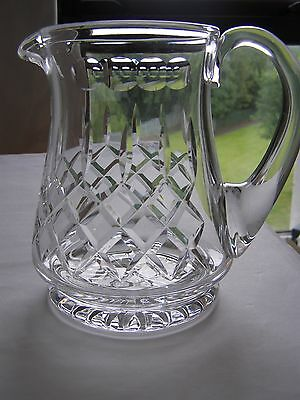 Stuart Crystal water jug Knightsbridge cut 2 pints