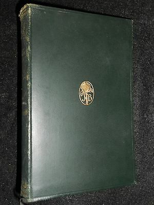 JOHN BUCHAN; A Lodge in the Wilderness - 1933 - Vintage Novel, Limp Leather