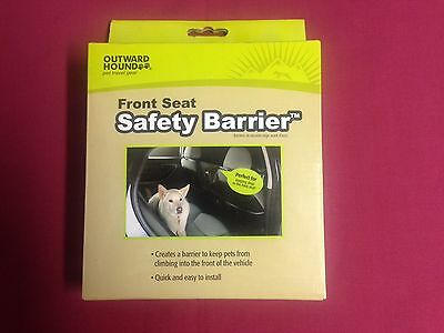 Outward Hound Front Seat Safety Barrier. Boxed.
